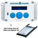 Elektrische Hühnerklappe Ckickenguard Premium mit DoorKit